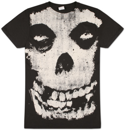 The Misfits -  All Over Skull T-shirts