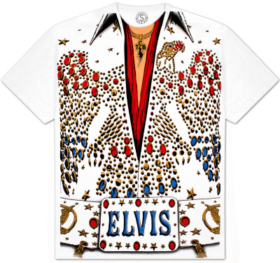 Elvis -  Eagle Jumpsuit T-Shirt