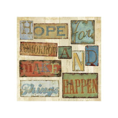 Believe and Hope II Giclee Print by Daphne Brissonnet