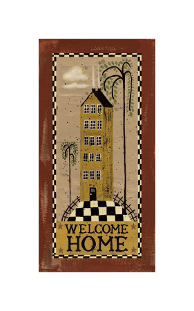 Welcome Home Giclee Print