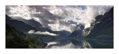 Norway Panorama Lámina giclée
