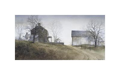 Rural Morning Giclee Print by Ray Hendershot