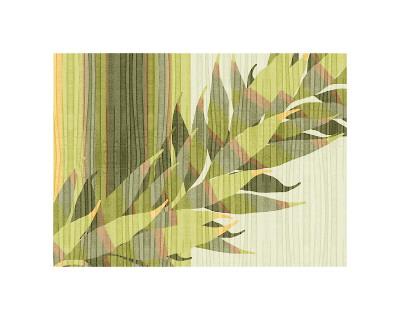 Water Leaves II Giclee Print by Mali Nave