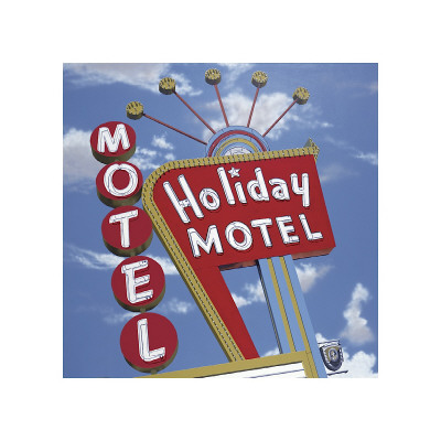 Holiday Motel Giclée-tryk