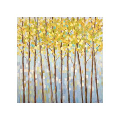 Glistening Tree Tops Giclée-tryk