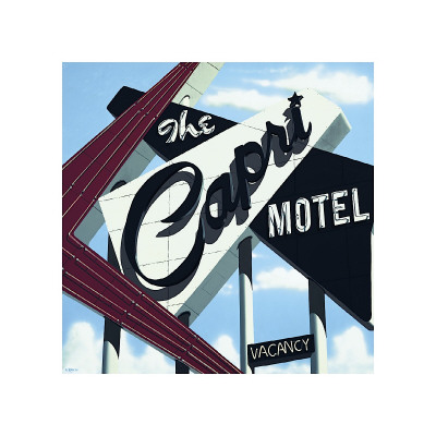 Capri Motel Gicle-tryk