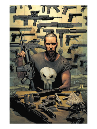 Punisher #1 Cover: Punisher Konsttryck