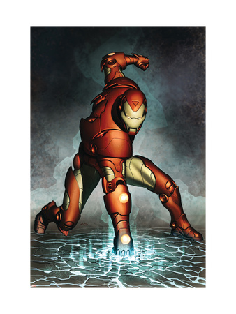 Iron Man #76 Cover: Iron Man Lmina