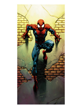 Ultimate Spider-Man No.72 Cover: Spider-Man Prints by Mark Bagley