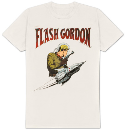 Flash Gordon -  Flash Rocket T-Shirt