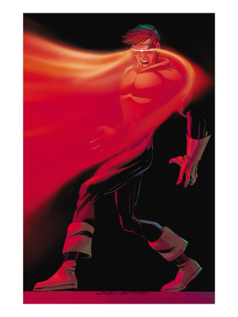 X-Men: First Class #10 Cover: Cyclops Art Print