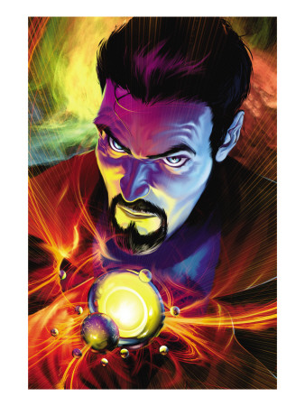 Strange No. 5 cover doctor strange superhero comic book poster