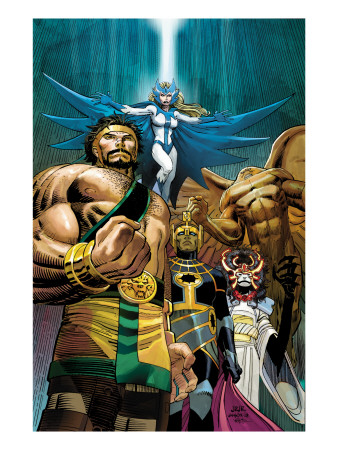 Incredible Hercules #117 Cover: Hercules and Snowbird Art Print