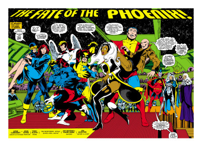 Phoenix: The Untold Story #1 Group: Storm Art Print