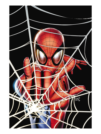 Spider-Man: Brand New Day - Extra!! #1 Cover: Spider-Man Charging Art Print
