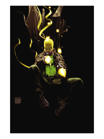 The Immortal Iron Fist: Orson Randall And The Death Queen Of California #1 Cover: Iron Fist Art Print