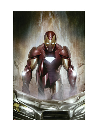 Iron Man: Director Of S.H.I.E.L.D. #30 Cover: Iron Man Art Print