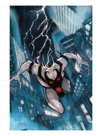 Anti-Venom - New Ways to Live No.1 Cover Artwork of Anti-Venom (Spider-man)
