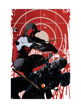 Daredevil Noir No.3 Cover: Daredevil Kunsttrykk