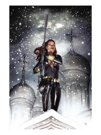 Black Widow Deadly Origins No. 2 Cover superhero comic book poster