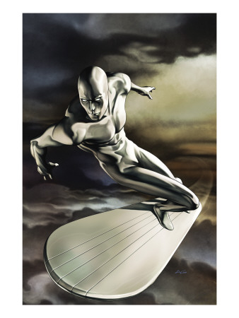 Silver Surfer No. 5 cover superhero comic book poster