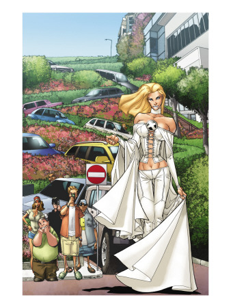 X-Men: Manifest Destiny #2 Cover: Emma Frost Art Print