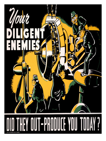 Your Diligent Enemies Production Poster Art Print