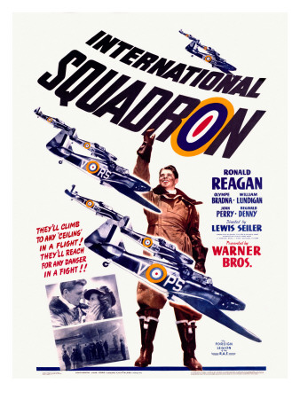 Ronald Reagan Squadron Movie Poster Giclee Print