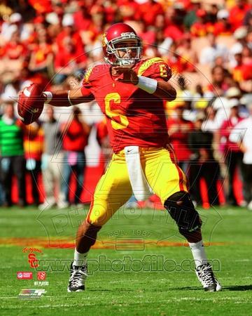 Mark Sanchez USC Trojans 2008 Action Photo