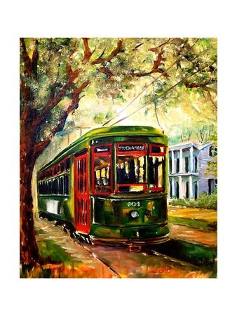 New Orleans St Charles Streetcar Prints by Diane Millsap