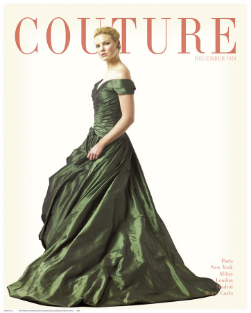 Couture, December 1959 Art Print