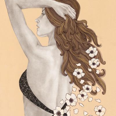 Message of Flowers Prints by Olga Gouskova