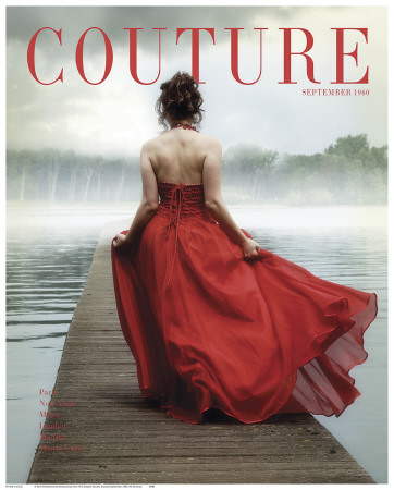 Couverture du magazine Couture, septembre 1960 Reproduction d'art