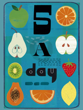 Five a Day Prints by Jessie Ford