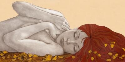 Sweet Dreams Poster by Olga Gouskova