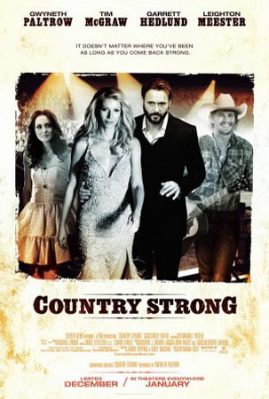 Country Strong Double-sided poster