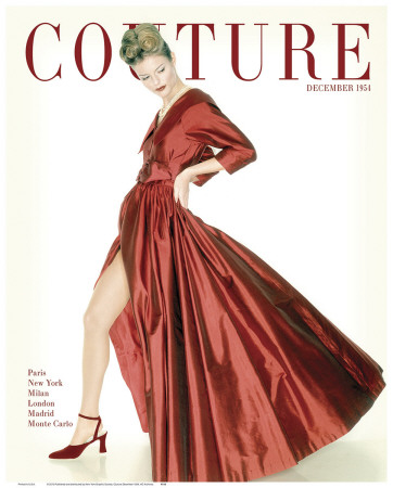 Couture, December 1954 Art Print