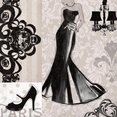 Little Black Dress Prints by Carol Robinson