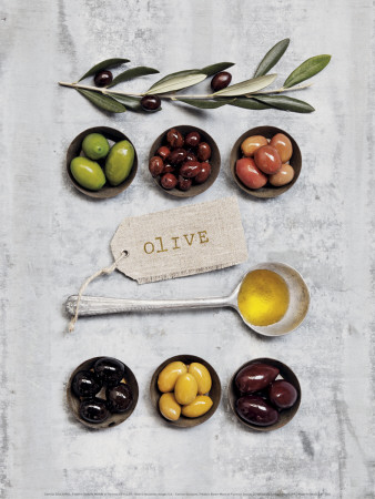 Olive Prints by Camille Soulayrol