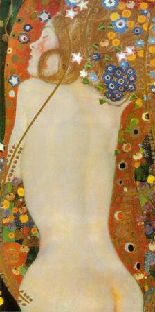 Søslange IV, ca. 1907 Kunsttryk