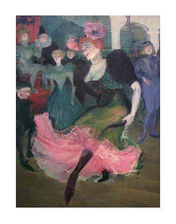Marcelle Lender Dancing Bolero Arte por Henri de Toulouse-Lautrec