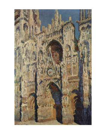 The Portal and the Tour d'Albane in the Sunlight, c.1984 Art by Claude Monet