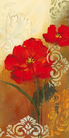 Red Melody I Art by Lilian Scott