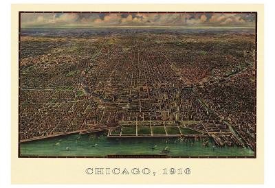 Chicago 1916 Prints by  Reincke