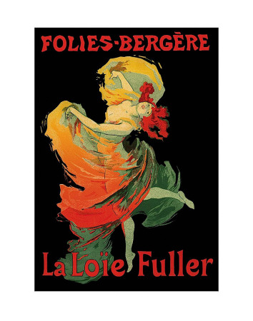 Folies-Bregere La Loie Fuller Reproduction d'art
