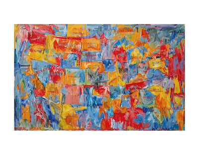 Map Art by Jasper Johns