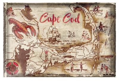 Cape Cod Holiday Print!