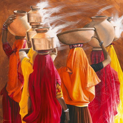 Saris Prints by Cédric Cazal
