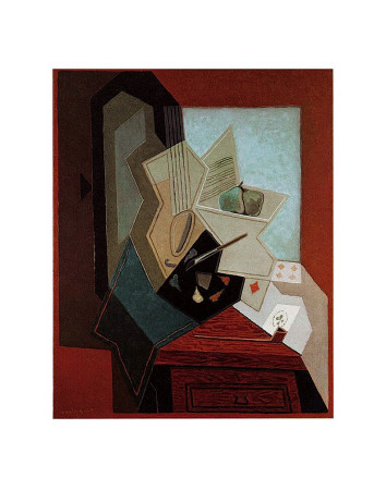 The Painter's Window Prints by Juan Gris