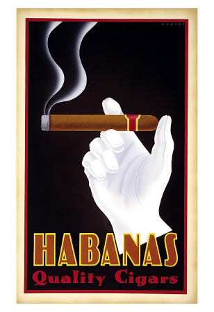 Habanas Quality Cigars Reproduction d'art